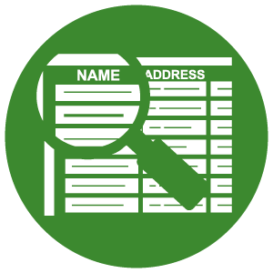 Mailing List Selection Icon