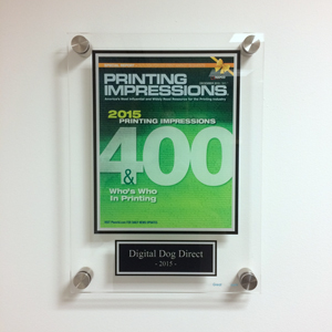 Digital Dog Direct has been granted awards for excellence in mail and printing.