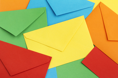 The outer envelope can be designed and tested to get direct mail opened.