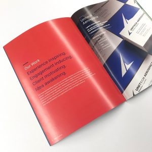 Saddle Stitch Promotional Booklet
