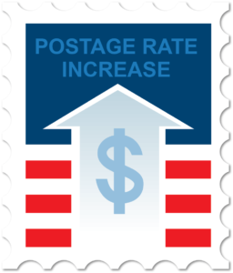 USPS announces postage rate increase for 2019.